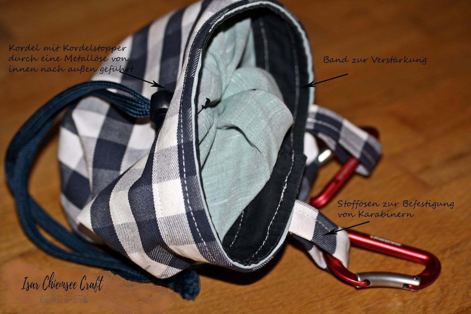 Chalk Bag – Anleitung zum Nähen