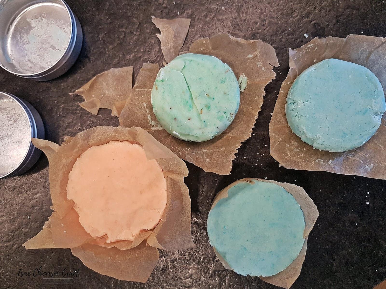 Festes Shampoo oder Handseife aus 4 Zutaten selber machen – Plastikfreier Shampoo Ersatz