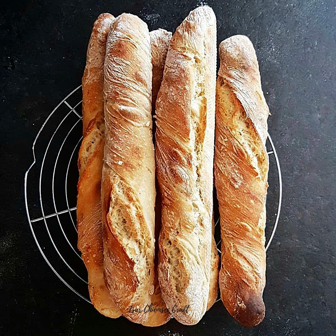 Rezept für schnelle Baguettes zum Grillen