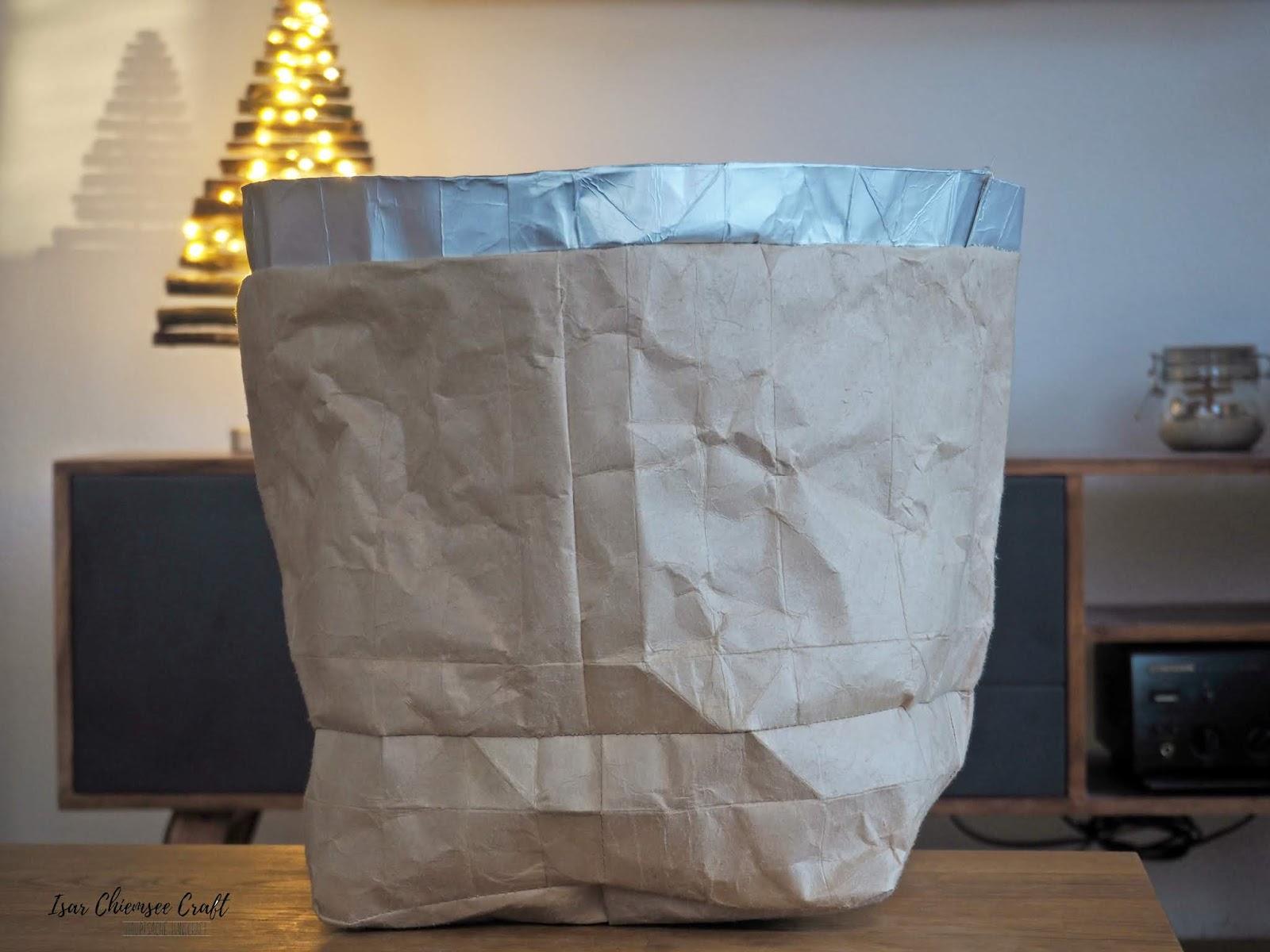 Milchkarton Paperbag DIY