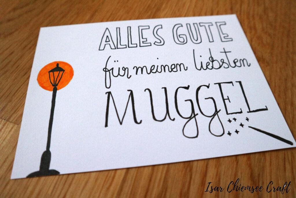 Harry Potter Karte Geburtstag
