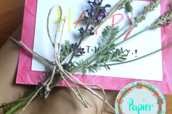 Alternative und nachhaltige Ideen zum Geschenke verpacken