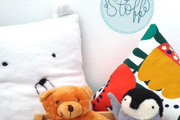 Kissen für das Kinderzimmer nähen und gestalten
