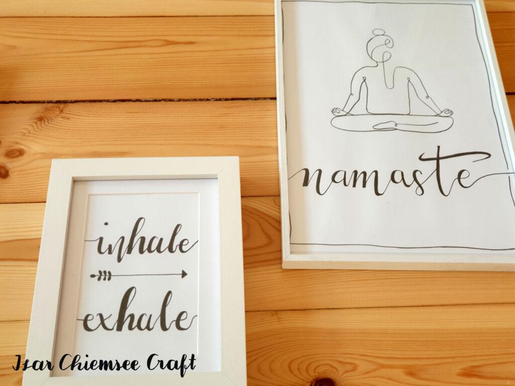 Yoga Lettering
