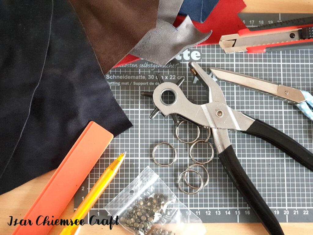 Lederreste Material DIY
