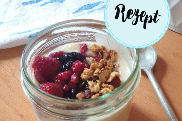 Joghurt mit Pflanzenmilch und probiotischen Kapseln herstellen