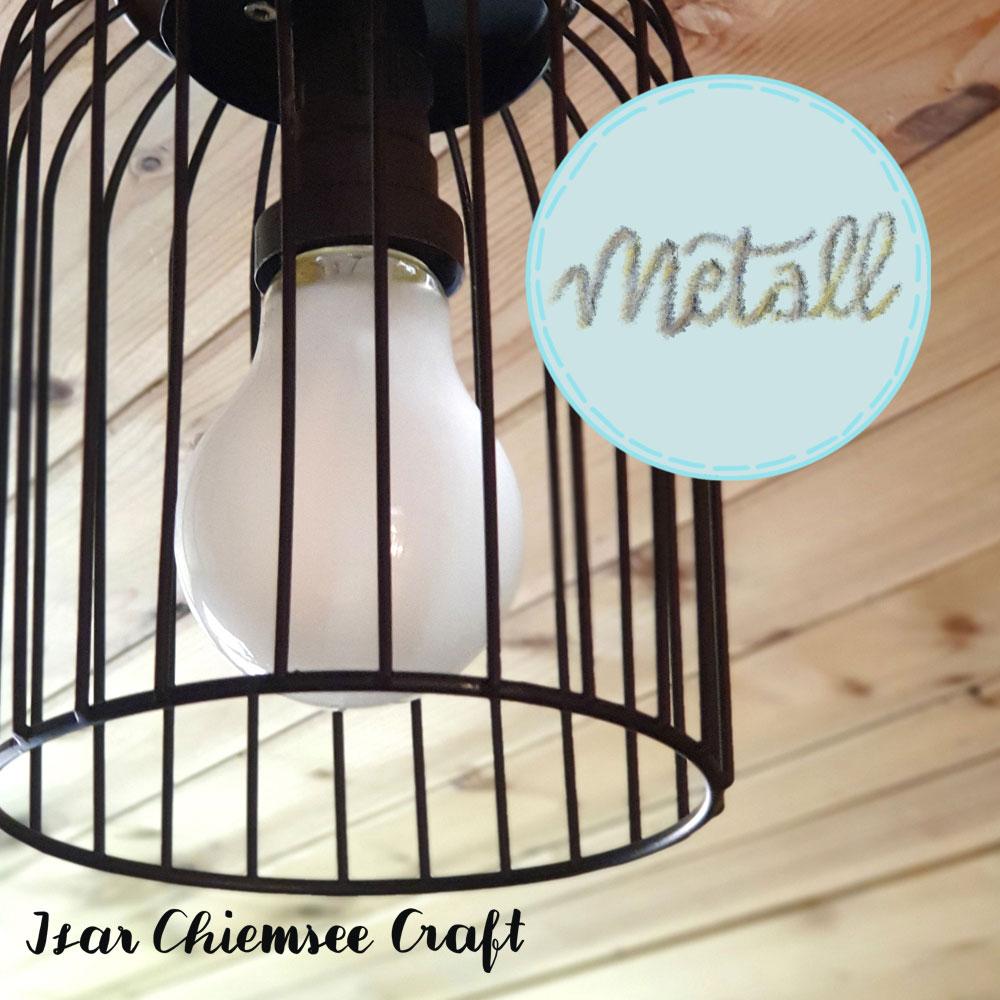 Lampen DIY – Vom Windlicht zur Deckenlampe