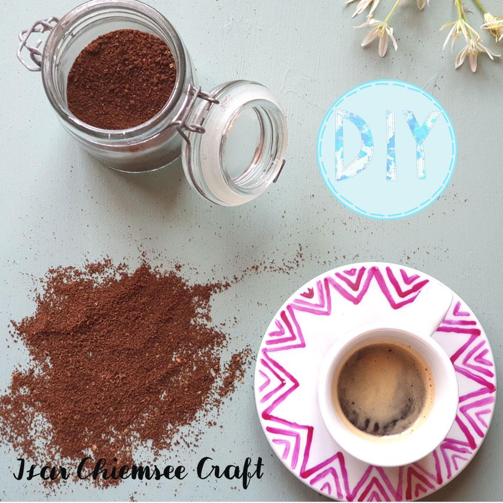 DIY Ideen zum Wiederverwenden von Kaffeesatz